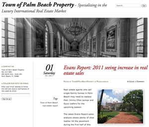 Town of Palm Beach Property Website