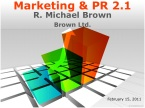 Marketing 2.1