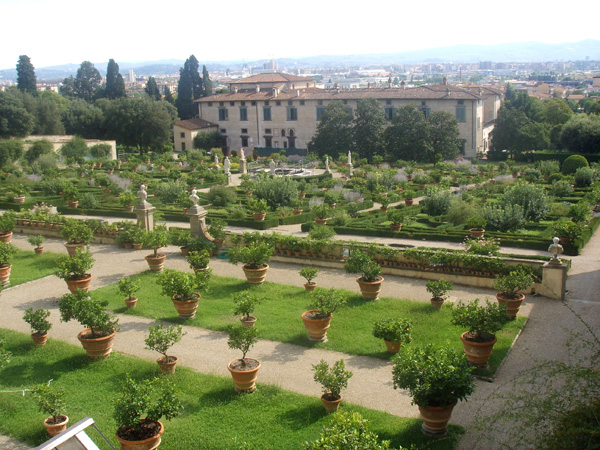 Medici Gardens in Florence, Italy