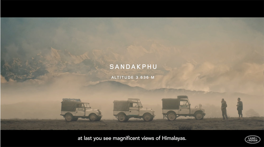 Land Rover Brand Storytelling Content Marketing